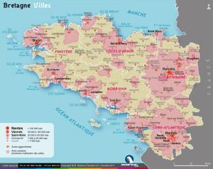 Villes de Bretagne - http://www.geobreizh.bzh/